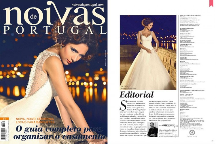 "Publication in ""Brides of Portugal"" with Olivia Ortiz"