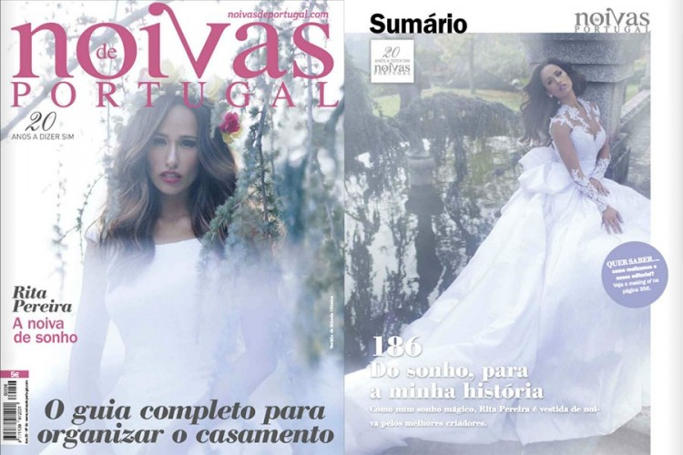 "Publication in ""Brides of Portugal"" with Rita Pereira"
